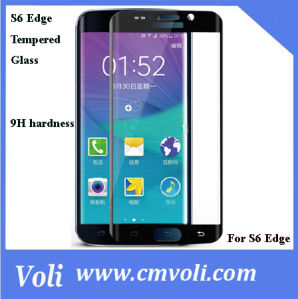 High Quality Tempered Glass Screen Protector for Samsung Galaxy S6 Edge pictures & photos