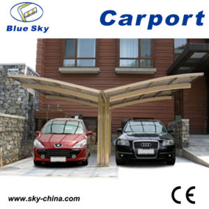 Y Shape Polycarbonate Sheet Carport for Car Parking (B810) pictures & photos