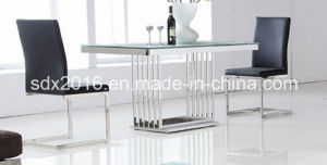 Glass Table / Coffee Table / Stainless Steel Table / LED Table / Glass Coffee Table / Tea Table / Living Room Furniture CT030 pictures & photos