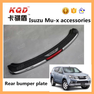 Car Bumper Protector for Isuzu Mu-X 2016 Body Kits Rear Bumper Protector Plate Isuz Mu-X Accessories Rear Bumper Guard