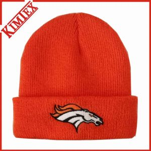New 2016 Knitted Embroidery Beanie Hat pictures & photos