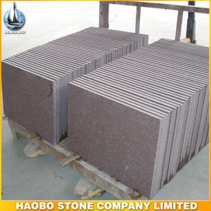 Haobo Stone Cheap Price Pink Granite Tiles for Sale pictures & photos
