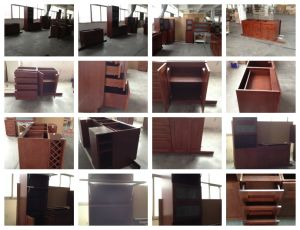 Oak Natural Wood Veneer Kitchen Cabinetry Manufacturer in Xiamen, China pictures & photos