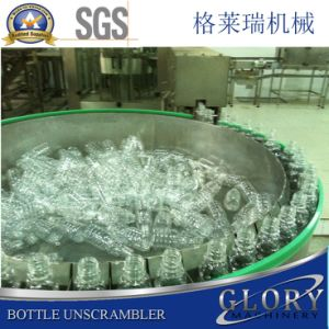 Automatic Turntable Accumulator and Unscrambler for Glass Bottles pictures & photos