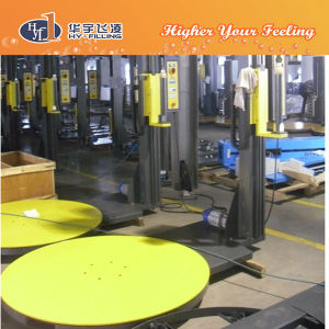 Semi-Automtic Film Pallet Stretching Wrapping Machine pictures & photos