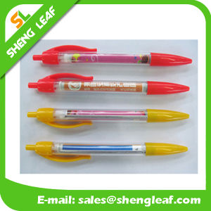 Two Colores for Choose of Banner Pens with Custom Logo (SLF-LG025) pictures & photos