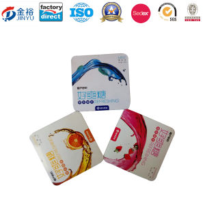Irregular Shaped Metal Food Packaging for Chewing Gum pictures & photos