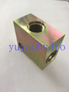 Hydraulic Flange Connector and Block Components pictures & photos