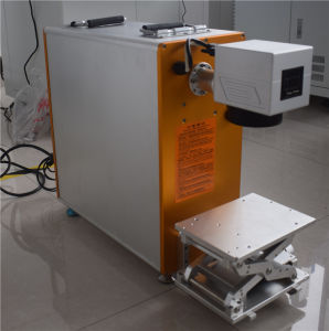10W Fiber Laser Marking Machine Portable for Stainless Steel pictures & photos
