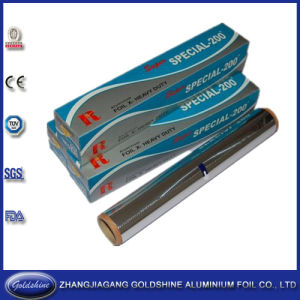 37.5 Sqft Household Aluminum Foil Roll for Food Packaging pictures & photos