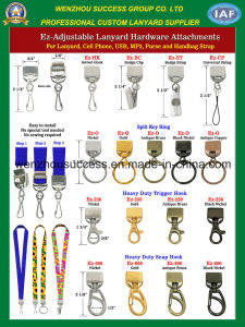 Adjustable Lanyard Hardware Attachments pictures & photos