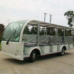 Green Power Pure Small Electric Passenger Sightseeing Bus (DN-23) pictures & photos