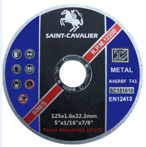Thin Cutting Disc for Metal/Steel 125X1.6X22.23 pictures & photos