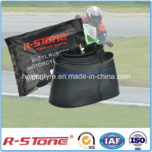 High Quality Natural Motorcycle Inner Tube 110/90-16 pictures & photos
