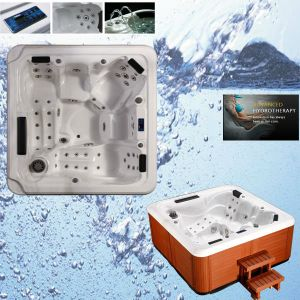 Fashional New Design Deluxe Outdoor Massage Hot Tub SPA pictures & photos