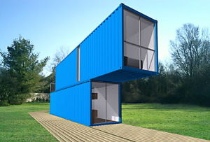 Residential Container House / Modular Integrated Housing