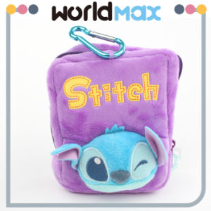 Custom Lilo & Stitch Plush Stitch Coin Bag Purse (SP1104)