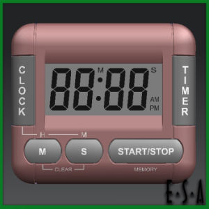 Hot New Product for Digital Clock Countdown Timer, Top Quality Mini Digital Desk Clock Timer for Kitchen G20b166 pictures & photos