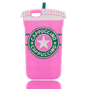 Cup Shape Silicone Phone Cases for iPhone 6 7 7plus Samsung Galaxy J5 J7 (XSF-009) pictures & photos