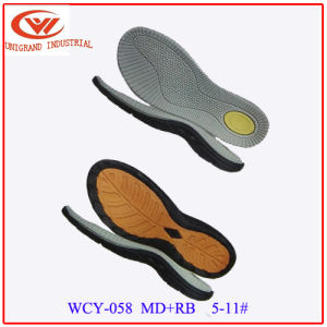 Md Eav Middle Sole and Rb Outsole for Making Men Sandals Shoes pictures & photos