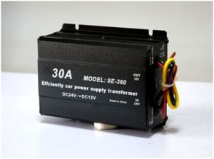 Suoer Car DC Buck Converter 30A Car DC 24V to 12V Converter with CE RoHS (SE-360) pictures & photos