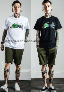 New Design Cool Mens Print Street Skateboard T-Shirt pictures & photos