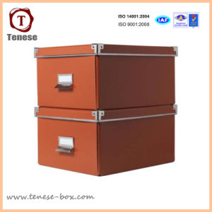 High End Heavy Duty Paper Box with Rivets pictures & photos