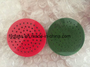 2017 Red Orange Yellow Color Glass Honey Comb Disk Dia50mm pictures & photos