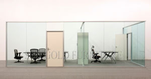 Guangdong Office Supplies Hotsale Glass Framless Office Cabin Partition (SZ-WS562) pictures & photos