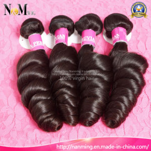 China Suppliers Wholesale Peruvian Hair 100% Loose Wave Weave pictures & photos