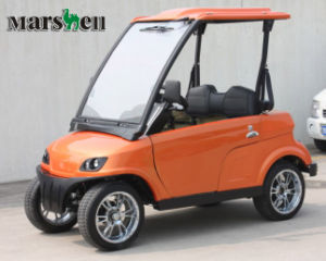 Street Legal Electric 2 Seat Small Cars for Sale Dg-Lsv2 with Ce pictures & photos