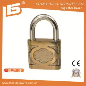 High Quality Iron Door Lock Padlock (HL201GP) pictures & photos
