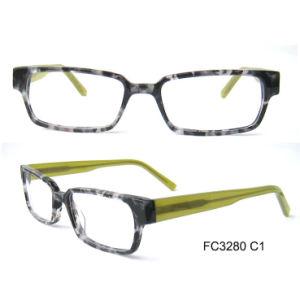 Fashionable Men Demi Acetate Optical Glasses pictures & photos