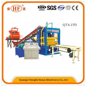 Full-Automatic Concrete Hollow Block Making Machinery Brick Forming Machine pictures & photos