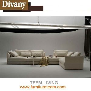 Modern Furniture Living Room Combination L Shape Sofa pictures & photos