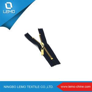 Metal Zipper Antique Brass Metal Zipper pictures & photos