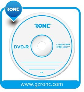 Ronc/OEM 16X/4.7GB Memory Blank DVD-R pictures & photos