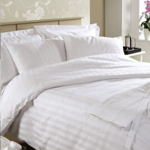 Hotel Bedding Linen China Supply Stripe Bedding Set pictures & photos