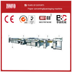 Fully Automatic UV Coating Machine (ZXUV-1400) pictures & photos