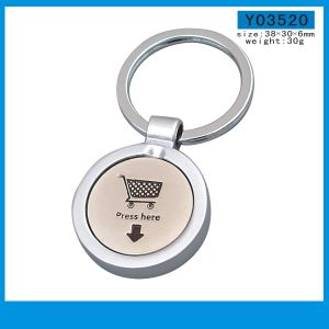 Metal Keychain for VIP Gift, Blank Key Chain pictures & photos