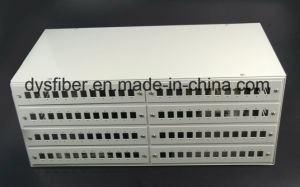 4u 19′ Fiber Optical 96 Port Patch Panel pictures & photos