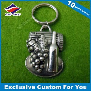3D Tank Car Mold Metal Keyholder Casting Leopard Keychain pictures & photos