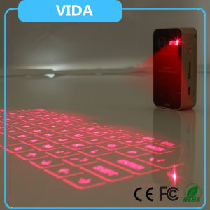 Wireless Bluetooth Air Laser Virtual Keyboard for Mobile Phone Tablet PC Laptop/Laser Keyboard pictures & photos