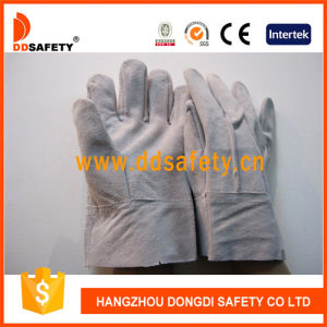 Ddsafety 2017 Natural Cow Split Leather Welder Glove pictures & photos