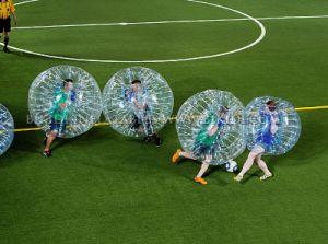 Crazy Body Game 1.0mm TPU/PVC Human Bubble Ball, Bubble Ball for Football, Bubble Ball Soccer Football, Bumper Ball D1005b pictures & photos