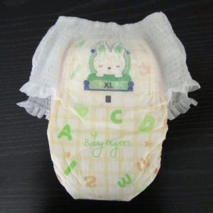 Shengjie OEM Disposable Baby Diaper Pants Manufacture pictures & photos