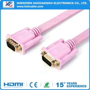 VGA Cable3+2/3+4/3+6 15 Pin Male to Male Copper Wire pictures & photos