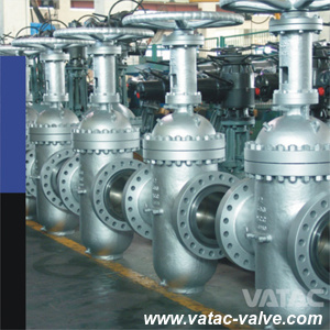 API 6D&API 598 Handwheel Cl900 Double Expanding Gate Valve pictures & photos