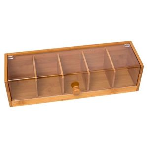 Custom Wooden Bamboo Frame Tea Packing Box Storage Box Wholesale pictures & photos