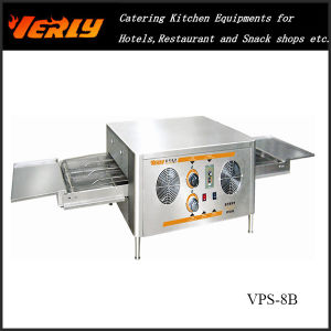 High Efficiency 18 Inch Pedrail Pizza Oven (VPS-8B)